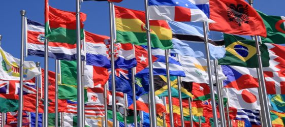 Embajada y Consulados - The world national flags